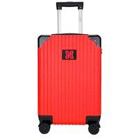 Nebraska Cornhuskers Premium 21'' Carry-On Hardcase Luggage - Red - No Size