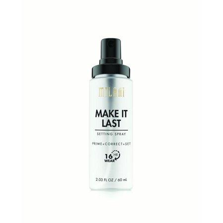 Milani Make It Last Setting Spray Prime   Correct   Set Make It Last