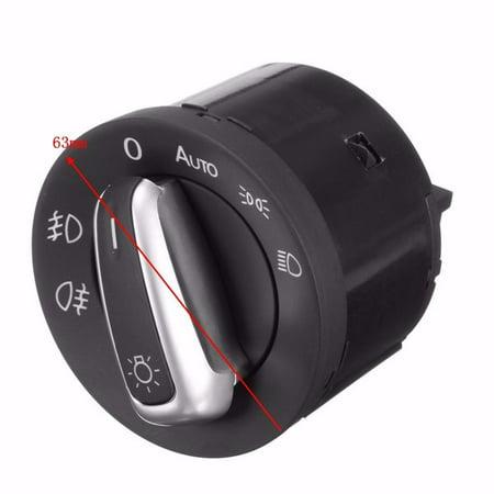 Auto Foglight Sensor & Switch Headlight Head Lamp Fog AUTO HEADLIGHT SENSOR Light For VW  Golf MK6 Jetta Mk5 GTI Passat B6 B7