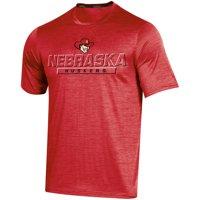 Men's Russell Athletic Scarlet Nebraska Cornhuskers Synthetic Impact T-Shirt
