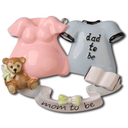 Excecting baby couple were expecting personalized christmas excecting baby couple were expecting personalized christmas ornament do it yourself solutioingenieria Gallery