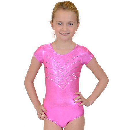 8634d750a006 Kaysees - Girl s RHINESTONE Princess Mystique Leotards - Small (6 ...