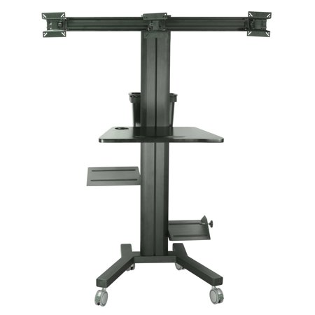 TygerClaw PC Cart for 2 Monitors - image 1 de 1