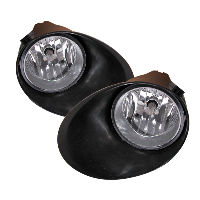 Spyder Toyota Tundra 07-13 All Double Cab/CrewMax OEM Fog Lights (Chrome Bumper Only) W/Switch- Clear