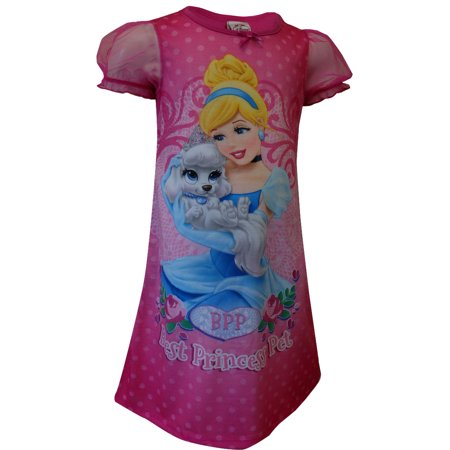 Disney Princess Cinderella Palace Pets Pink Toddler - Princess Nightgowns For Toddlers