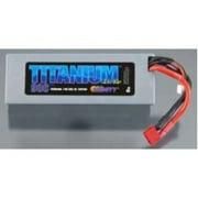 Titanium Racing 5500mAh LiPo, 7.4v, 2s 50c :Deans