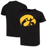 Iowa Hawkeyes Russell Athletic Youth Oversized Graphic Crew Neck T-Shirt - Black