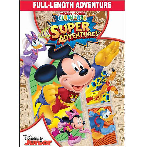Mickey Mouse Clubhouse: Super Adventure (DVD + Trading Card Set)