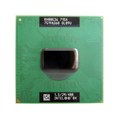 SL89U Socket mPGA478C INTEL PENTIUM M 715A 1.5GHZ SOCKET MPGA478C MOBILE LAPTOP PROCESSOR CPU SL89U US Laptop Processors - Used Very - Pentium Mobile