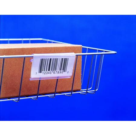 Snap Label SL1203 Label Holder, Wire basket/display, Clear 3
