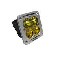 Baja Design Squadron Sport Flush Mount LED Driving Combo Amber 551013