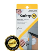 Safety 1st Adhesive Magnetic Lock System - 2 Locks and 1 Key, White