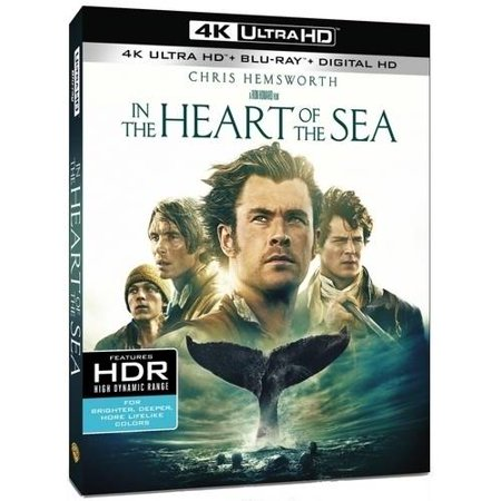 In The Heart Of The Sea (4K UltraHD + Blu-ray + Digital HD With