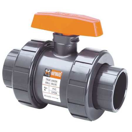 "Hayward PVC Ball Valve,True Union,Socket,3"" TB1300S"