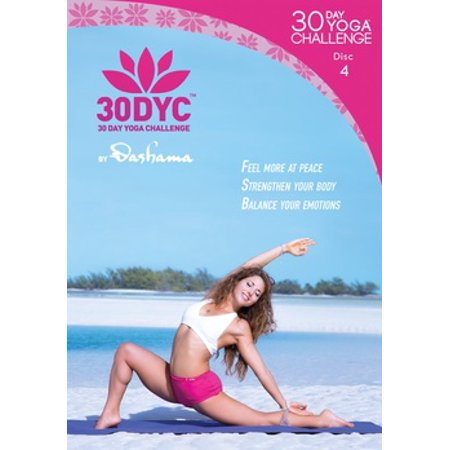 Dashama Konah Gordon: 30 Day Yoga Challenge Disc 4 (DVD)