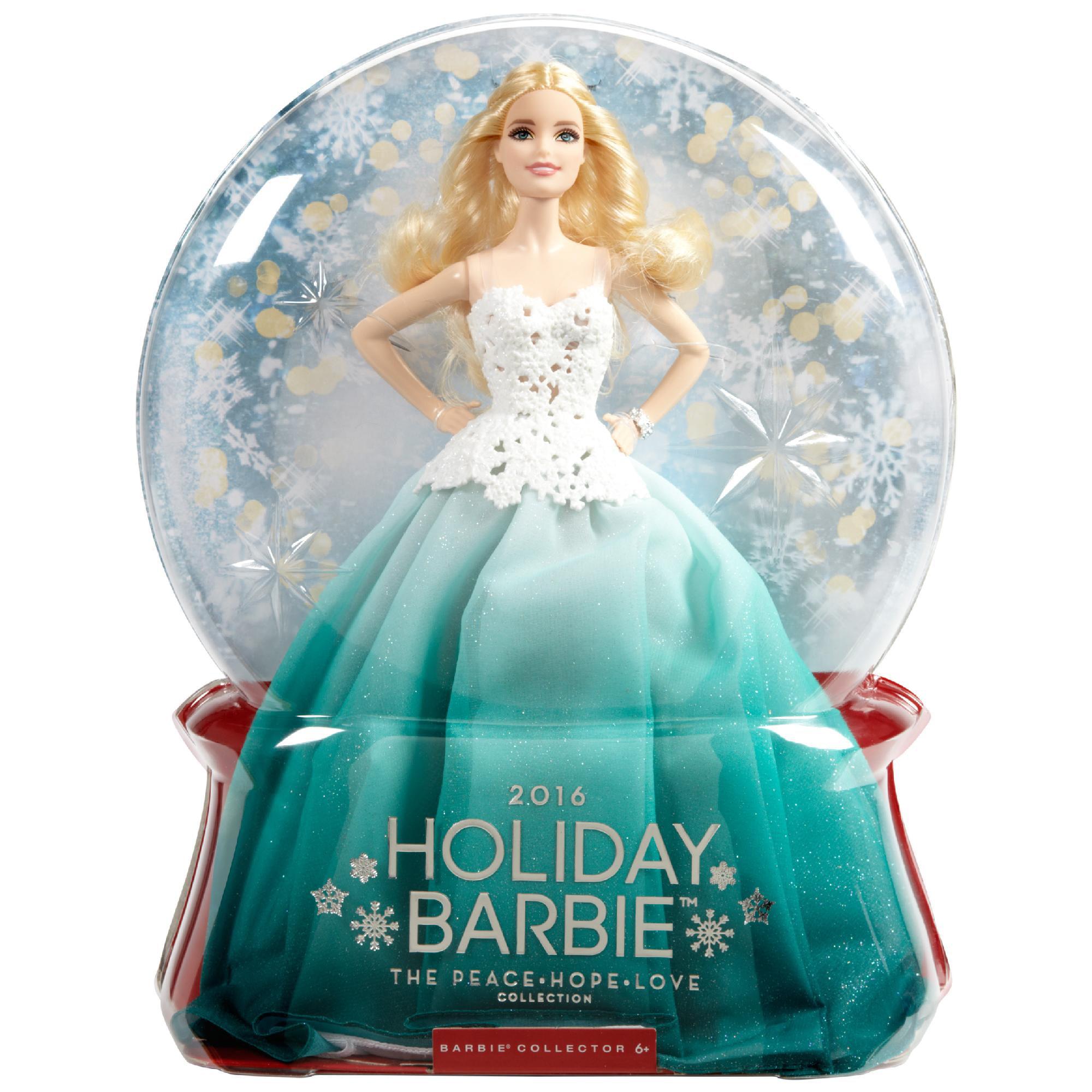 2016 Holiday Barbie Doll - Walmart.com