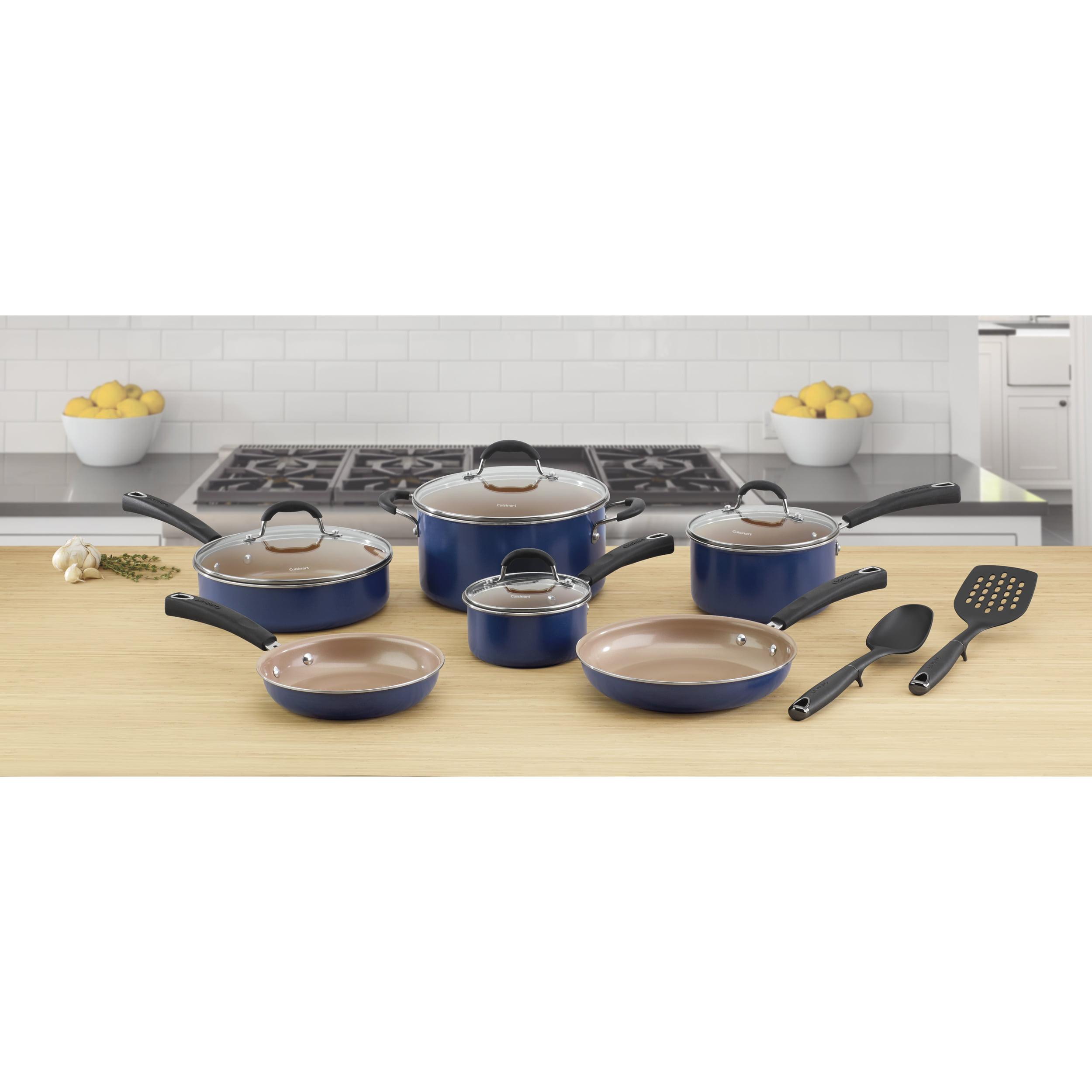 Cuisinart Alum Ceram 12 Pc Cookware