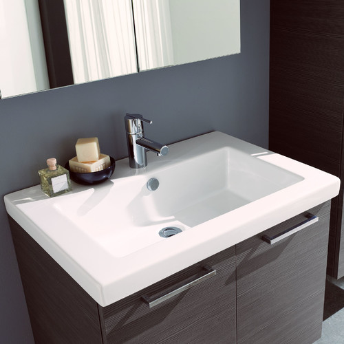 George Oliver Welke Self Rimming Bathroom Sink
