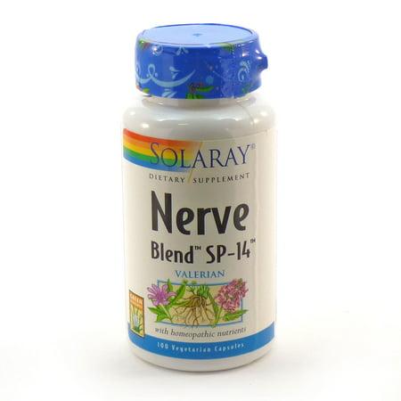 Solaray Nerve Blend™ SP-14™ -- 100 Capsules