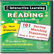 Teacher Created Resources Interactive Learning Software: Reading Fiction and Nonfiction, Grade 1 (2643)