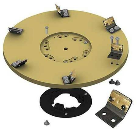 DIAMABRUSH 931601212 Abrasive Disc,Tan,3 in. dia.,16 in. W