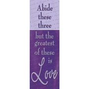 Banner-Greatest Of These Is Love (Indoor)