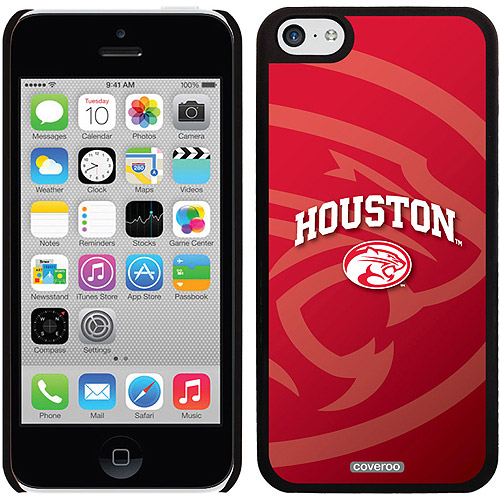 University of Houston Cougars Red Design on iPhone 5c Thinshield Snap-On Case by Coveroo
