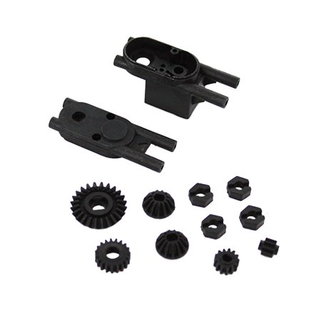Gear For Running In The Dark (Redcat Racing 24701 Center Gears with Mount, and Wheel)