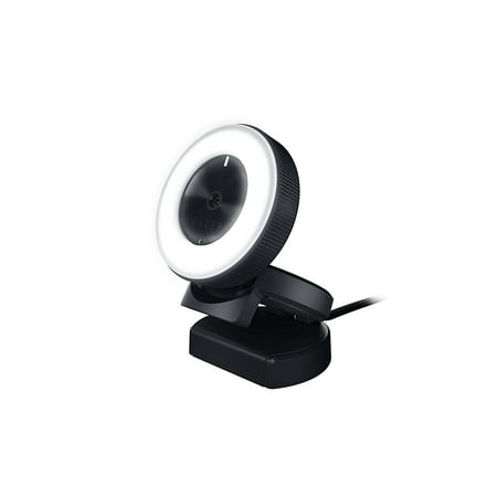 Edimax Web Cameras - Razer Kiyo: Full HD 1080p 30FPS / 720p 60FPS - Built in Adjustable Ring Light - Advanced Autofocus Feature - Streaming Web Camera