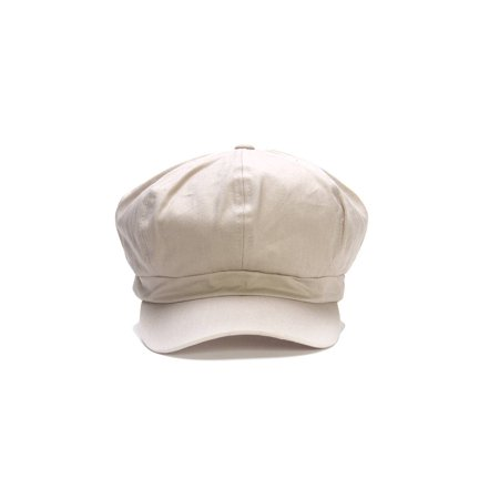 Cotton Elastic Newsboy Cap - Stone Croton Womens Quartz Stone