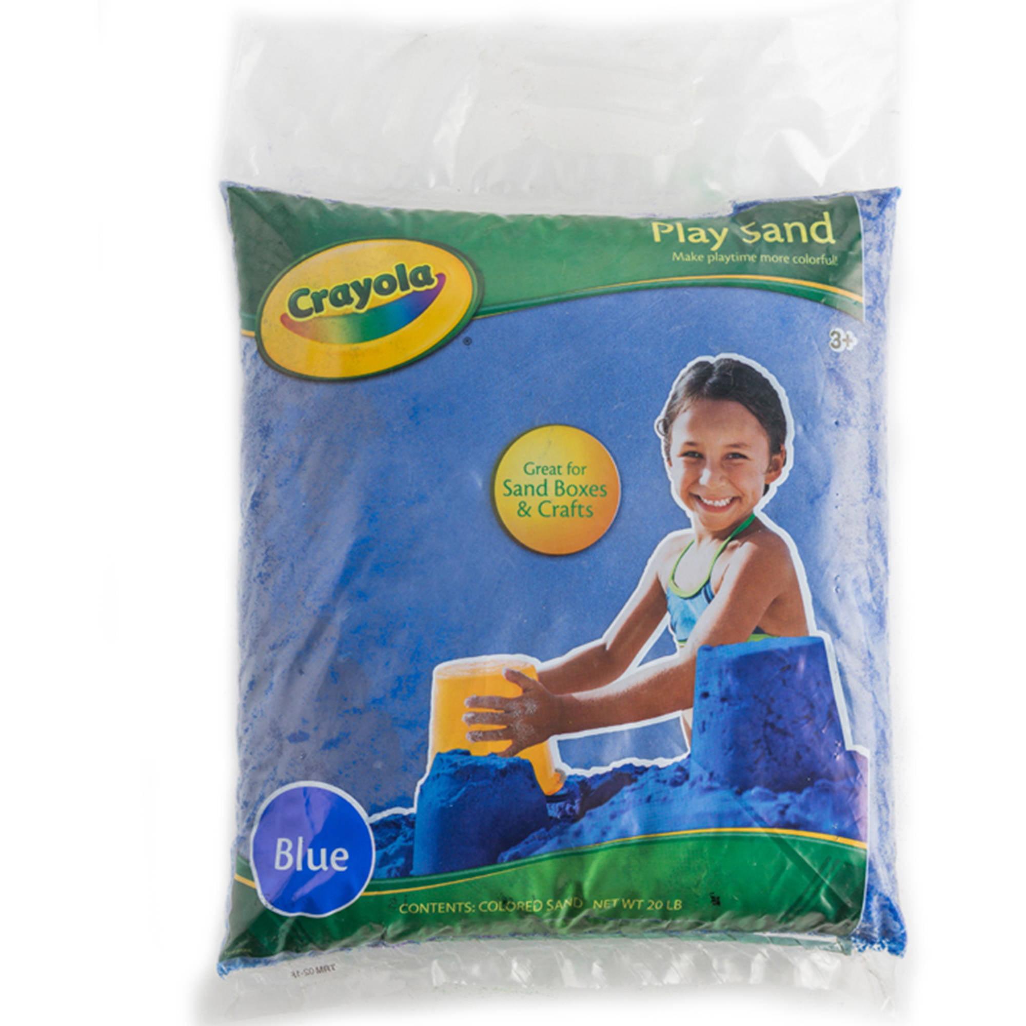 Crayola 20 lb Bag Play Sand - Walmart.com