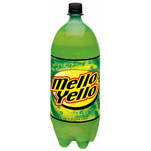 Mello Yello: Citrus Soda, 2 L