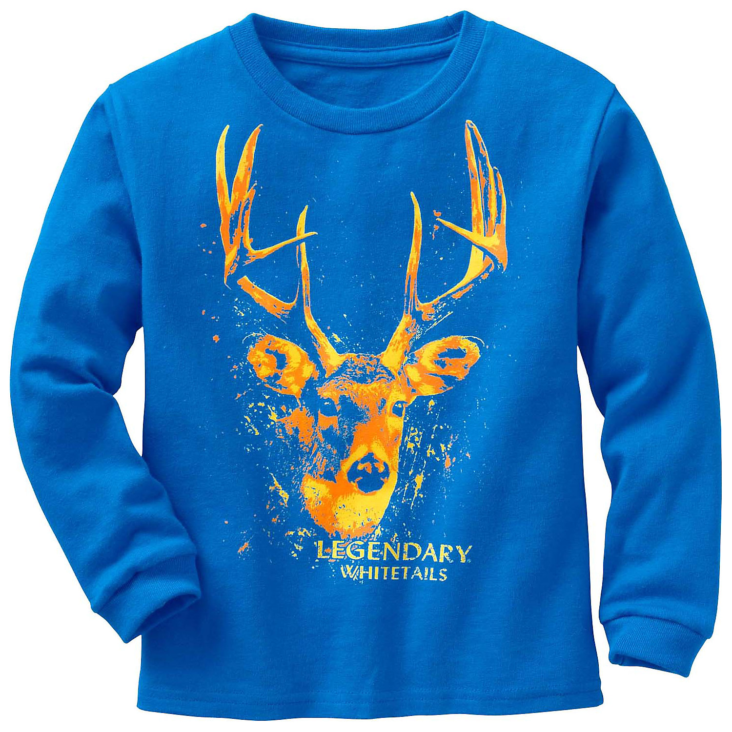Legendary Whitetails Toddler Boys Splatter Buck L/S Tee