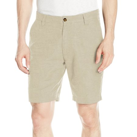 Sand Mens Classic-Fit Flat-Front Shorts 42