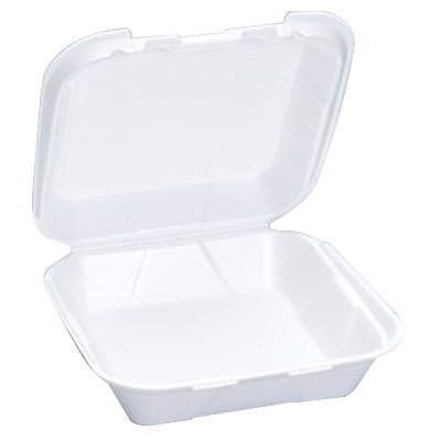 To Go Boxes (Genpak Quality To Go Snap It Foam Take Out Medium Food Container Vented White, 8.25