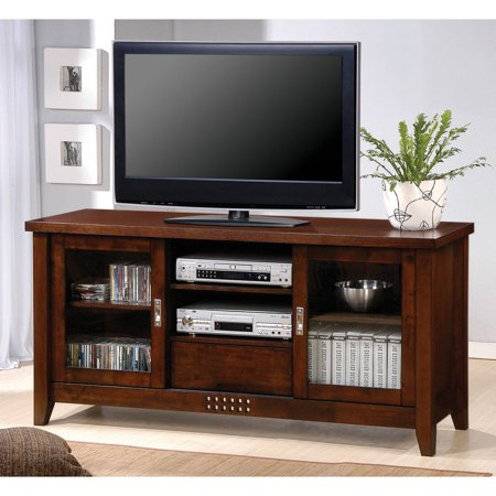 Coaster Transitional Warm/Brown TV Console for TVs up to 59