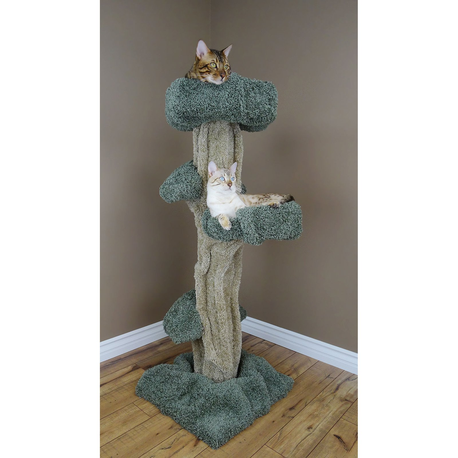 New Cat Condos Large Play 51 in. Cat Tree