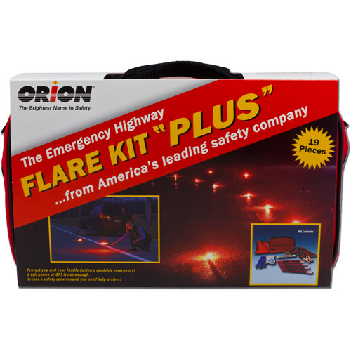 """Orion Safety Products Emergency Highway Flare Kit """"Plus"""