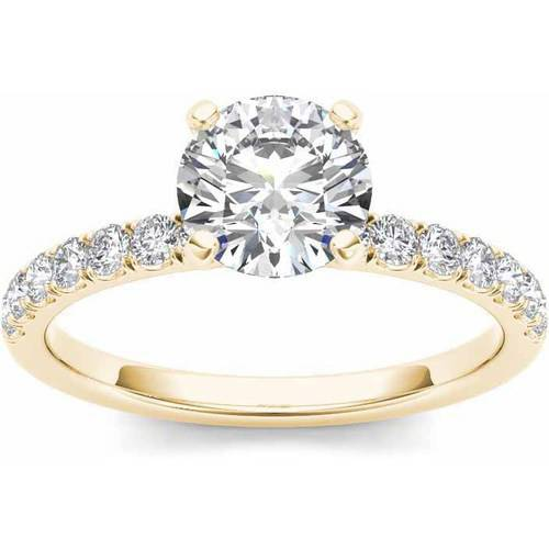 Imperial 3 4 Carat T.W. Diamond Classic 14kt Yellow Gold Engagement Ring by Imperial Jewels