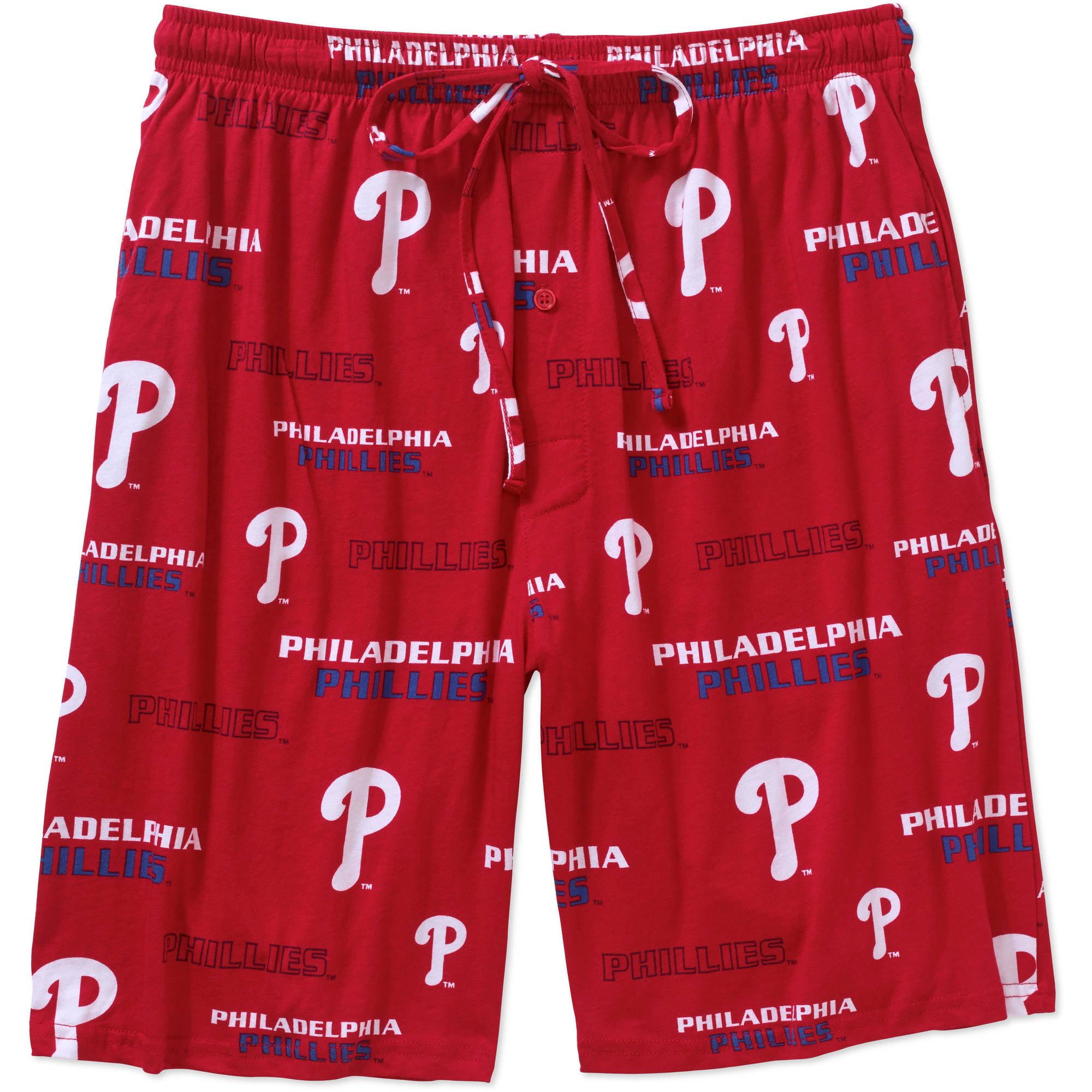 MLB Men's Philadelphia Phillies Knit Jam Shorts