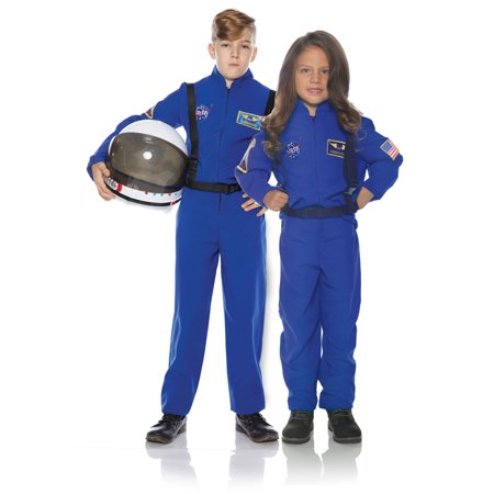 Astronaut Blue Child Outer Space Explorer Costume Flight