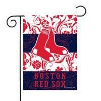 "Boston Red Sox Sparo 13"" x 18"" Double-Sided Garden Flag with Pole - No Size"