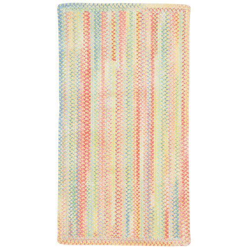 Capel Baby's Breath 0450RS Braided Rug - Light Yellow