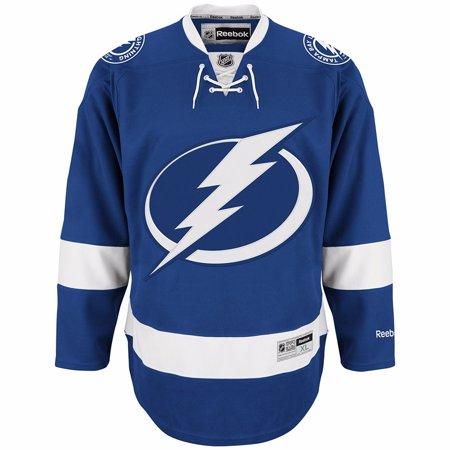 Tampa Bay Lightning NHL Reebok Blue Official Premier Home Jersey For Men
