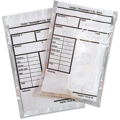 MMF Industries Cash Transmittal Bags