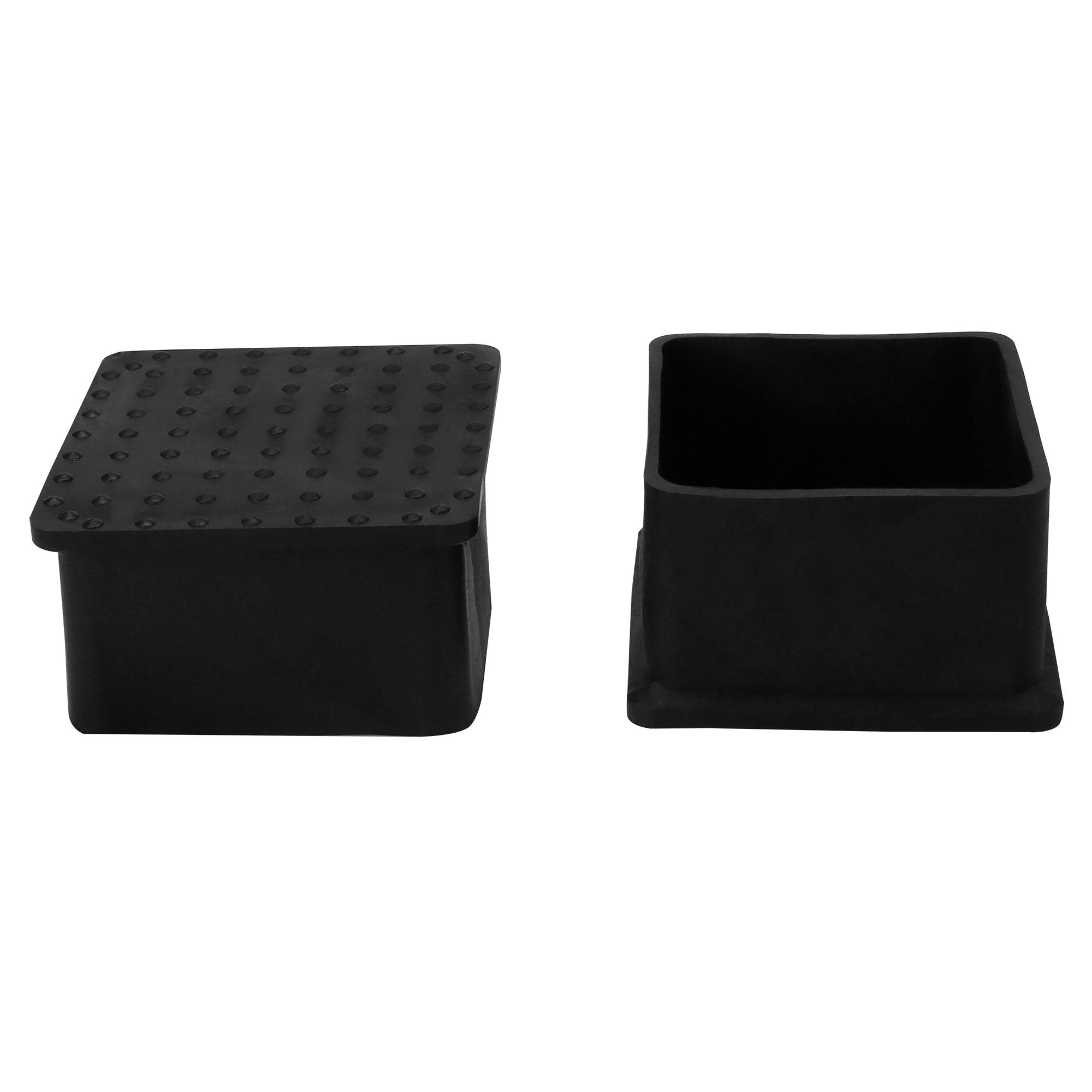 "Desk Table Leg Caps End Tip Home Furniture Protector 30pcs 2""x2"" (50x50mm) - image 7 de 7"