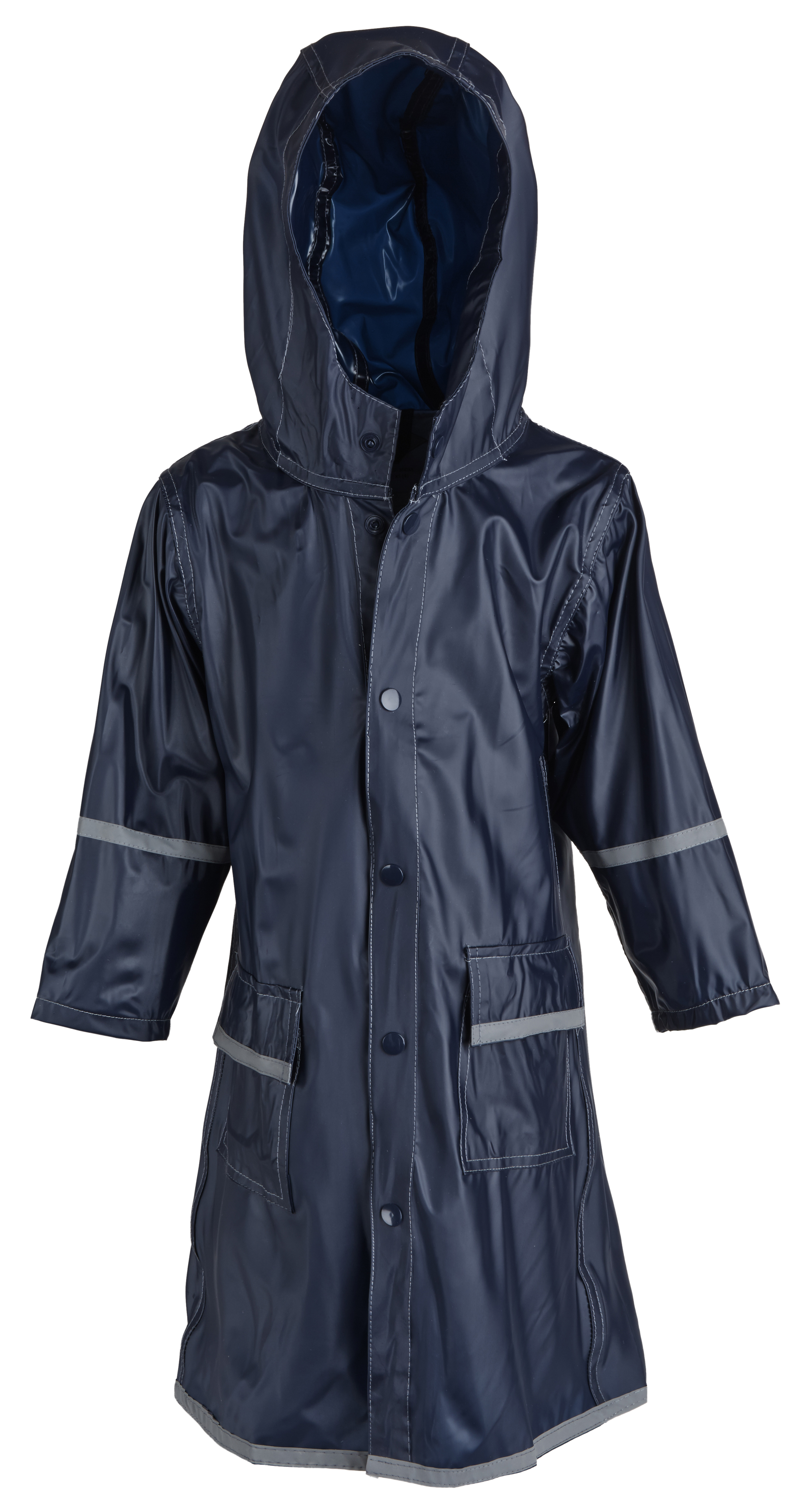 Juniors Premium Rain Jacket Kids Water Proof Rain Coat with Reflector