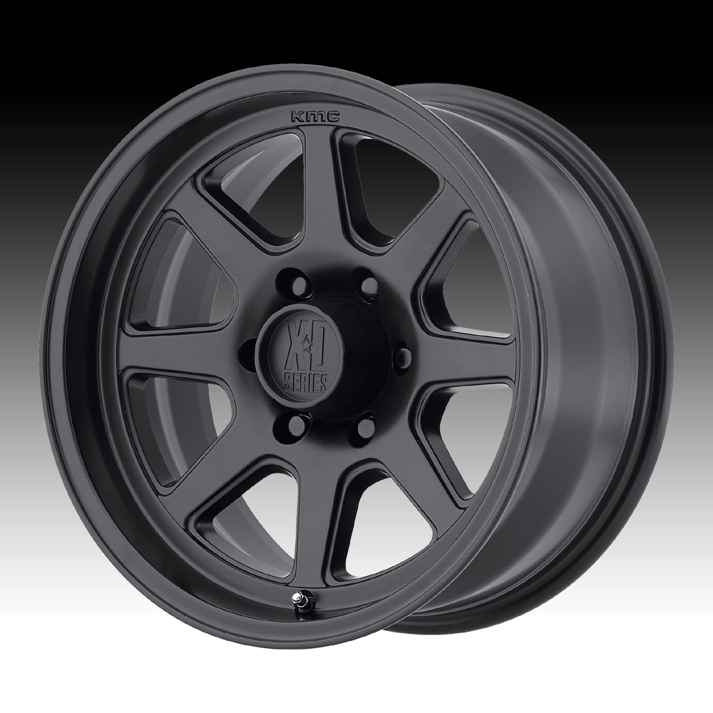 KMC XD XD301 Turbine Satin Black 16x8 8x6.5 0mm (XD301680...