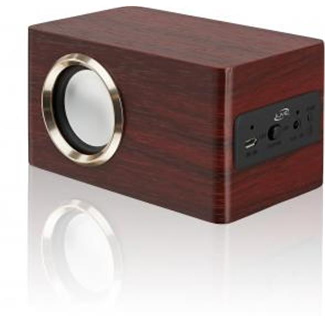 Ilive ISB135RW V2. 1 Bluetooth Redwood Speaker