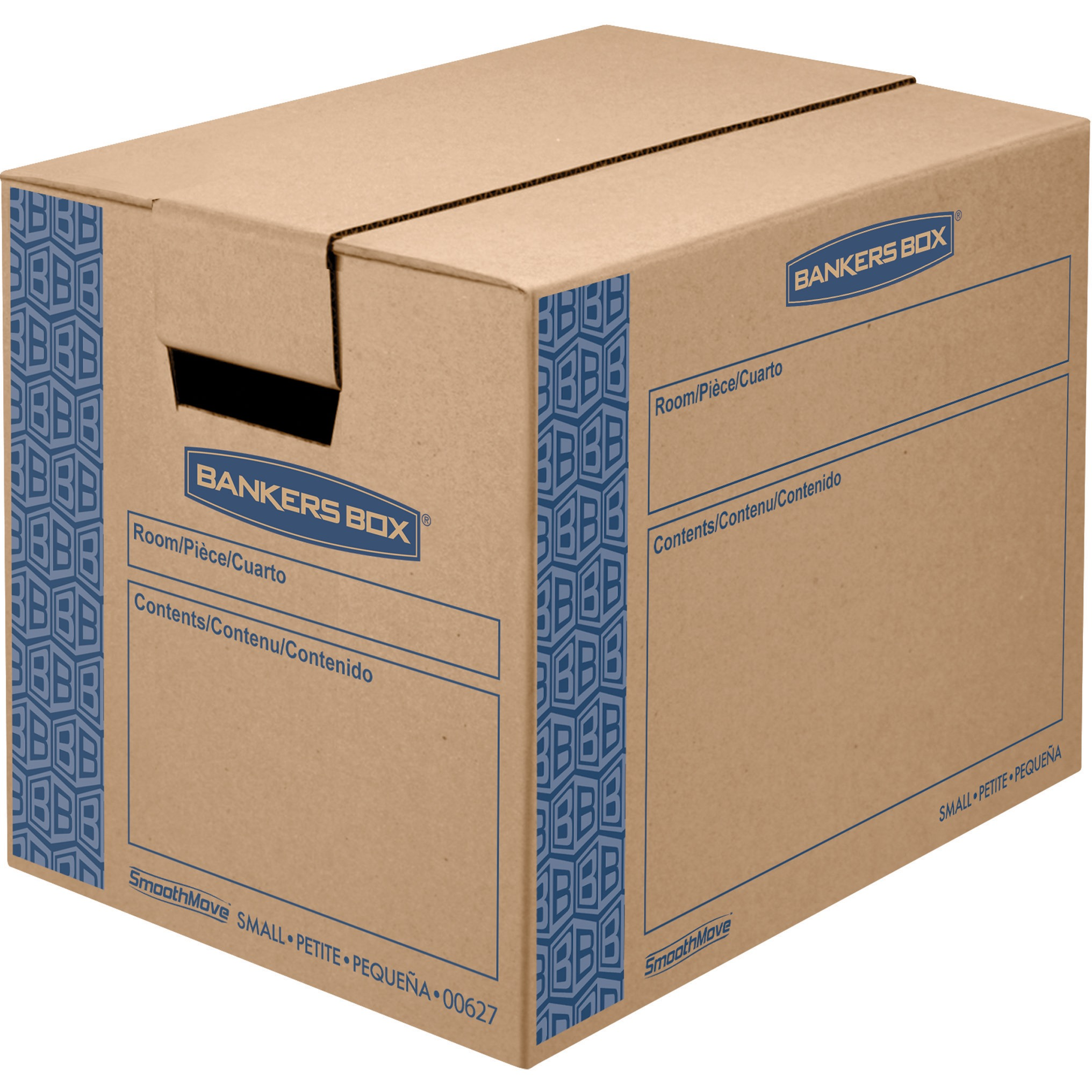 Bankers Box SmoothMove Prime Moving Boxes, Small
